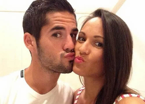 Isco y su novia celebran en Twitter la llegada de su primer hijo