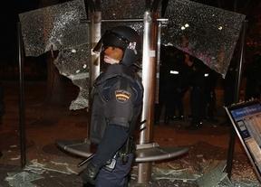 Una operación policial se toma la revancha contra los violentos del 22-M: 8 detenidos
