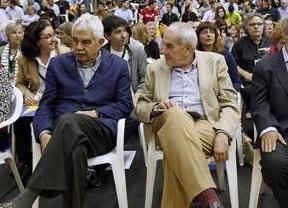 Confusa participación de Pasqual Maragall, con alzheimer, en un mitin de ERC donde su hermano es candidato
