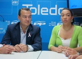 Agustín Conde junto a Claudia Alonso