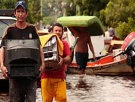 Gobierno evacúa afectados por lluvias en Sur del Lago