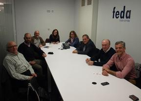 UPyD Albacete y comerciantes coinciden en la necesidad de un plan de promoción comercial