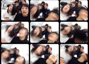 Los japoneses retuercen los 'selfies' hasta dar miedo
