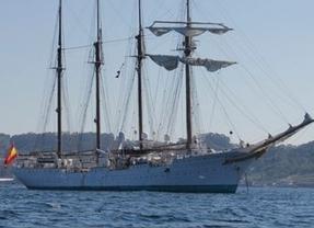 Donde menos se espera... aparecen 127 kilos de cocaína en el buque escuela de la Armada española