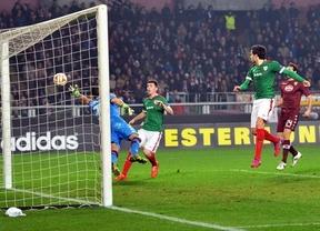 Liga Europa: los 'leones' arañan un empate en Turín (2-2) y Sevilla y 'submarino' emergen por la mínima en sus estadios