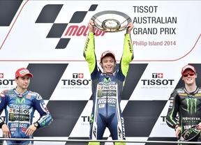 Rossi vence tras la caída de Márquez  y Rabat se queda a las puertas del título por el triunfo de Viñales