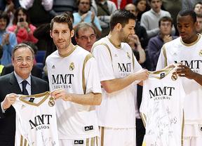 El Madrid de baloncesto homenajeó a Rudy Fernández e Ibaka en su despedida