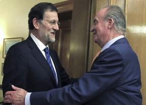 El Rey se reunirá con Rajoy el viernes