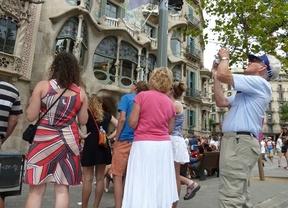 Cataluña lidera la llegada de turistas extranjeros hasta septiembre con 12,6 millones