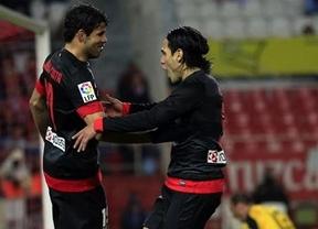 Diego Costa hace de Falcao: su doblete goleador le regala tres puntos al Atlético en Pamplona