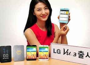 LG presenta su nuevo 'smartphone' LG Vu 3 con pantalla de formato 4:3