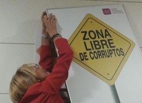 UPyD y Posada, como el gato y el ratón a cuenta de un polémico cartel anti-corruptos