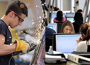 El coste laboral por trabajador y mes creció un 1,6% en el cuarto trimestre de 2011