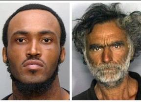 El caníbal de Miami se comió los pómulos, un ojo y la nariz de su víctima