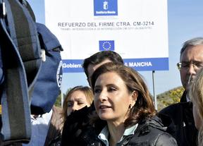 Marta García de la Calzada asegura que la Junta apostará por las carreteras secundarias