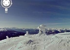 Google Street View se pone los esquís para llevarnos a la nieve