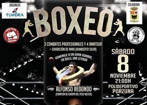 Porzuna (Ciudad Real) acoge una velada de boxeo homenaje al púgil español Alfonso Redondo