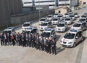 Seat entregará este año 394 coches a los Mossos d'Esquadra