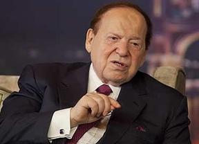 Sheldon Adelson propone lanzar una bomba atómica sobre Irán