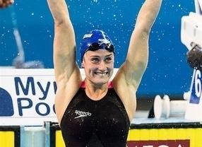 'ImparaBelmonte': la nadadora bate el récord mundial 1.500 metros libres en piscina corta