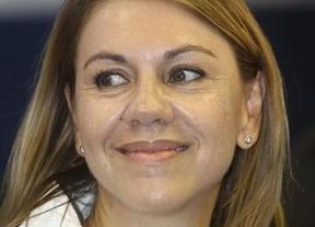 Cospedal, 'convencida' de que la legislatura terminará creando empleo en Castilla-La Mancha