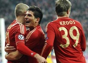 Champions: el Bayern despeja las dudas de la ida con una goleada y se mete en cuartos