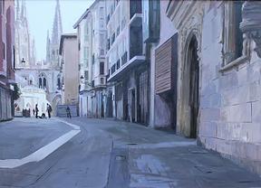 Kike Meana gana el primer premio del 19º Concurso de Pintura Catedral de Burgos de la Fundación AXA