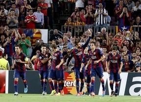 El Barça, sin pena ni gloria, gana a un combativo Apoel (1-0)