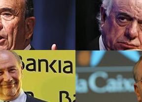 Bankia se coloca en el ránking de fusiones, con BBVA como comprador favorito
