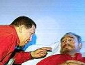 Chávez se encarga de contrarrestar los rumores de EEUU sobre la inminente desaparición de Castro