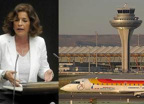 Ana Botella quiere que el aeropuerto de Barajas pase a llamarse Adolfo Suárez