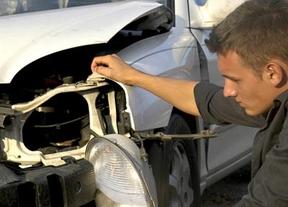 Las operaciones de reparación de carrocería en talleres bajan un 39%
