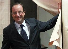 Hollande será el candidato socialista que se enfrentará a Sarkozy