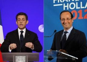 Sarkozy recorta distancias a Hollande pero el socialista gana el voto centrista de Bayrou
