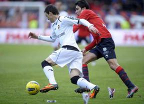 El Valencia impide la revancha de Osasuna y se marcha del Reyno con el pase encarrilado (0-2)