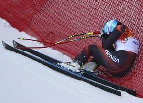 Siguen nuestros grandes 'éxitos' olímpicos en Sochi: Carolina Ruiz vuelve a caerse en el supergigante