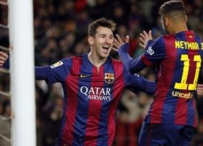 Messi no quiere ser menos que Ronaldo: con un triplete el Barça humilla a su eterno rival catalán (5-1 al Espanyol)