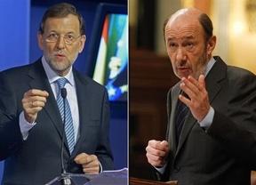 Rubalcaba ve clima para un 'gran acuerdo' con Rajoy frente a Europa, pero aún no han hablado de eso