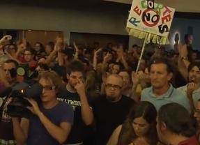 Piden que se retiren las denuncias contra los docentes que interrumpieron el pregón de ferias de Guadalajara