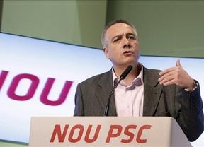 Indiscutible victoria la de Pere Navarro: elegido por 545 votos como secretario general del PSC