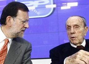 El presidente Rajoy rinde homenaje a Fraga:
