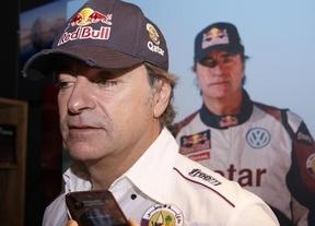 Carlos Sainz abandona el Rally Dakar tras un accidente