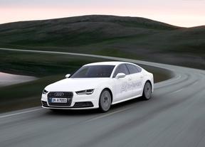 Audi exhibe en Los Ángeles el nuevo prototipo de hidrógeno A7 Sportback h-tron quattro