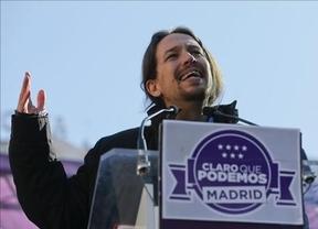 Pablo Iglesias hace su propio Debate de la Nación alternativo dando réplica a Rajoy en la calle