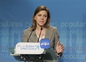 Cospedal elude hablar de los actos electorales organizados por Cuadrifolio