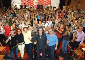 'A Toda Banda': conciertazo reivindicativo de 300 músicos en defensa de su arte