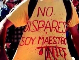 Denuncian asesinato de 16 educadores en 2010