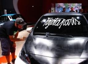 Un Toyota AYGO de diseño exclusivo en el Salón del Automóvil de París 2014