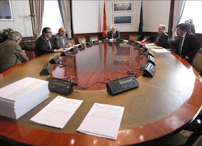 Representantes del PP en la ponencia del Congreso encargada de emitir el dictamen sobre la Ley de Transparencia
