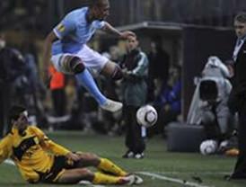 Man City saca empate sin goles ante Aris en la Liga de Europa